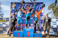 2017 Winter Series Finals DH podiums