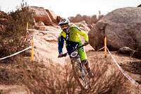 2014 Fontana City National Sport/Beginner DH practice