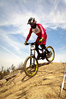 2014 Fontana City National Pro/Expert DH pre-race run